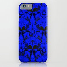 Creatures from the Blue Regal Abstract digital textured pattern iPhone 6s Slim Case