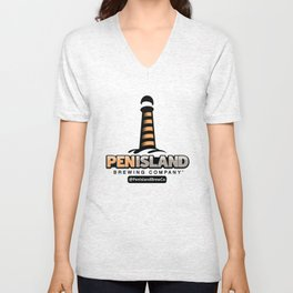 Pen Island Brewing Company Unisex V-Neck