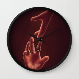 Don't Let Go Wall Clock