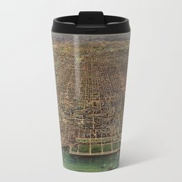 Chicago 1916 Travel Mug