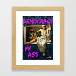 The Death (?) of Socrates Framed Art Print
