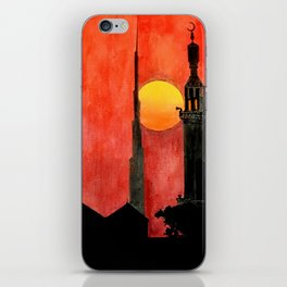 UAE Sunset iPhone Skin