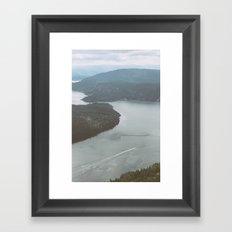 Gulf Islands, Canada Framed Art Print
