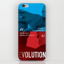 Evolution iPhone Skin