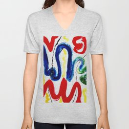 EXCITEMENT !     By Kay Lipton Unisex V-Neck