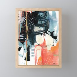 EMERGE // Funk Framed Mini Art Print