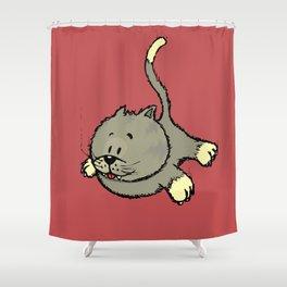 I always land on my feet Shower Curtain