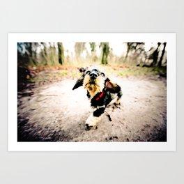DACKEL DOG PUPPY #7 Art Print