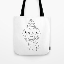 PIZZA PAPI (EYES OF THE CHEST 2) Tote Bag