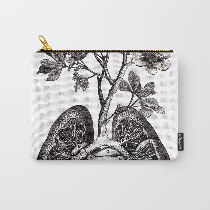 Flourishing Lungs Carry-All Pouch