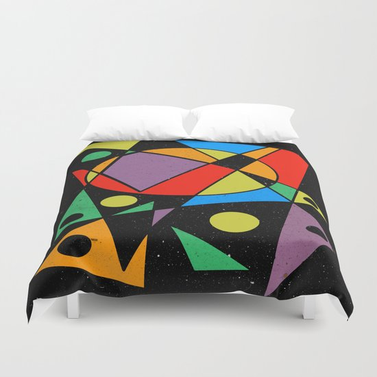 Abstract #130 Duvet Cover