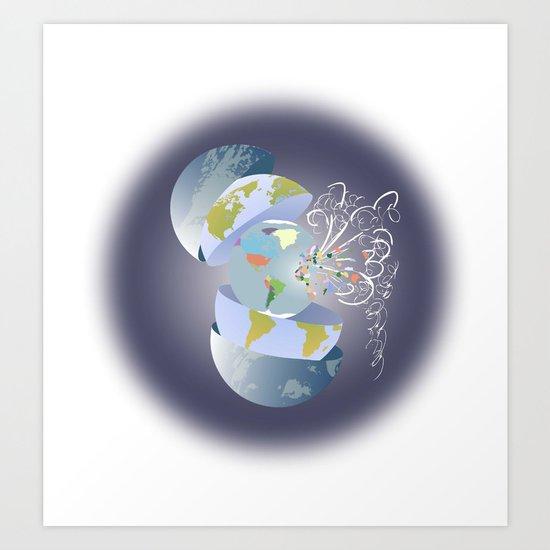 2012 - World Art Print