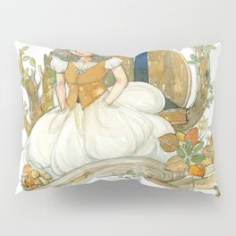 Colourful Seasons in the Forest Beautiful Childhood Fairytale Pillow Sham