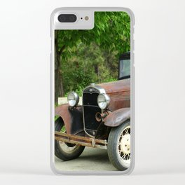 Ford A Clear iPhone Case