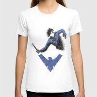 nightwing T-shirts featuring Nightwing by dudesweet