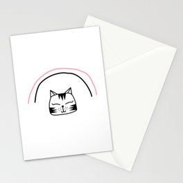 I Do What I Want Cat Stationery Cards