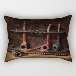 The Pipe Rack Rectangular Pillow