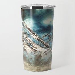 Winter Skies Travel Mug