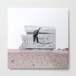 Misplaced Series - Cooper Union Metal Print