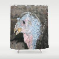 turkey Shower Curtains featuring Turkey! by Twilight Wolf