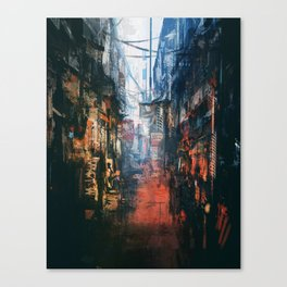 Joint Alleyway Canvas Print