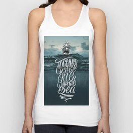 One With The Sea Unisex Tank Top