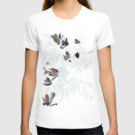 fall leaves T-shirt