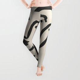 Apollinaire, Matisse, Rouveyre (Trois têtes. A l'amitié) Leggings