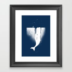 Frozen Leviathan Framed Art Print