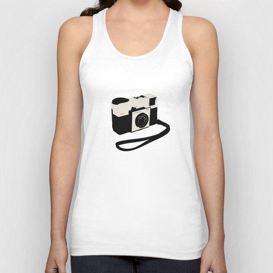 ivory kodak instamatic camera Unisex Tank Top