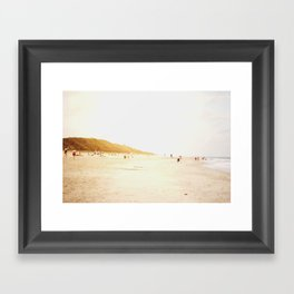 Sunset. Framed Art Print