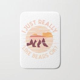 I just really like bears, okay? Bath Mat