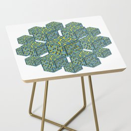 Cubed Mazes Side Table