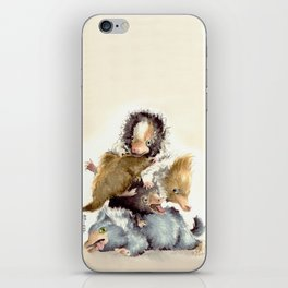 Niffler babies iPhone Skin
