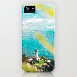 Diamond Head Lighthouse, HI iPhone Case