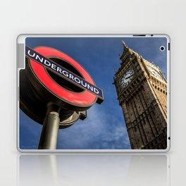 Big Ben & Westminster Underground Station Laptop & iPad Skin
