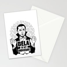 Bela Is My Homeboy Stationery Cards