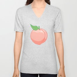 Peachy Unisex V-Neck