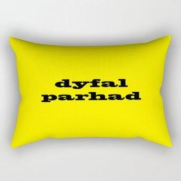 Dyfalparhad - Persistence Rectangular Pillow