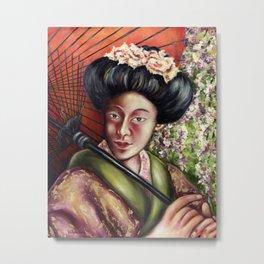Nadeshiko Metal Print