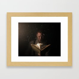 Immersed With Hemingway Framed Art Print
