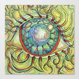 Hairy eyeball Canvas Print