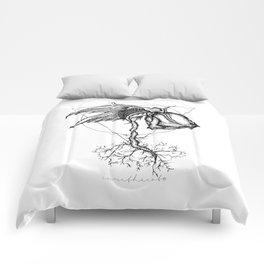 Fluer Morte Comforters