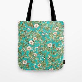 Teal Botanical #society6 #decor #buyart Tote Bag