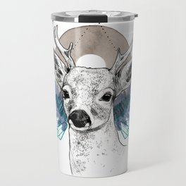 The Deer (Spirit Animal) Travel Mug