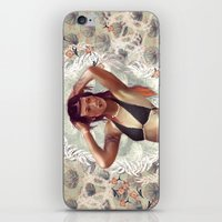 venus iPhone & iPod Skins featuring VENUS by Galvanise The Dog