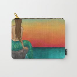 Siren Sunset Carry-All Pouch