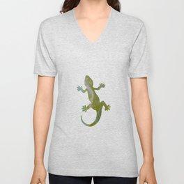 Gecko Unisex V-Neck