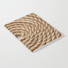 Sisal rope Notebook