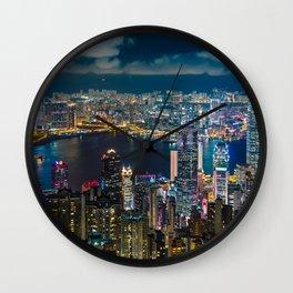 HONG KONG 10 Wall Clock